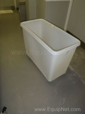 Lot of 37 off Mobile 225 Litre capacity Plastic Tubs with removable Plastic lids