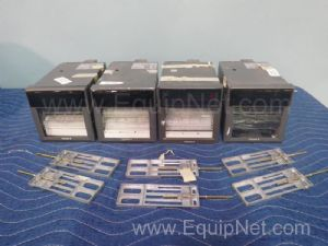 Lot of 4 Yokogawa 436103 Chart Recorders
