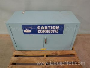 Justrite Two Door Corrosive Storage Cabinet