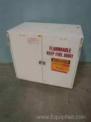 Fisher Hamilton Two Door Solvent Storage Cabinet