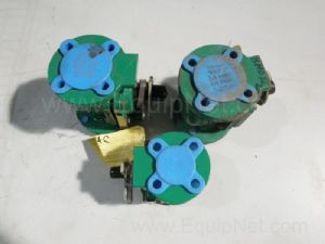 Lot of 3 Durco Ball Valves