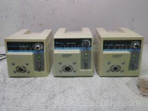 Lot of 3 Cole Parmer Masterflex Peristaltic Pump With Console Drive