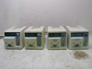 Lot of 4 Cole Parmer Masterflex Peristaltic Pump Console Drives