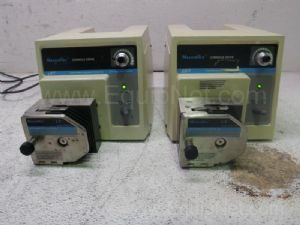 Lot of 2 Cole Parmer Masterflex Peristaltic Pump Console Drives