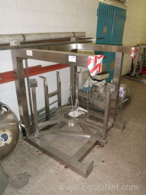 Lot of 2 off Stainless steel IBC Support Stands