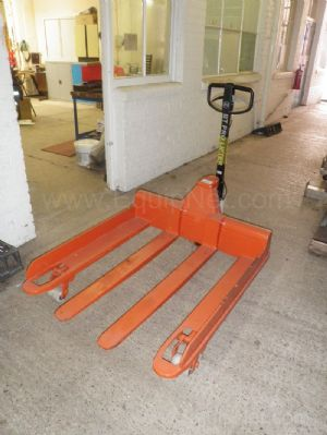 Unused BT Pro Lifter Side guided 4 fork Manual Pallet Truck