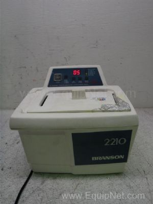 Branson 2210 Ultrasonic Cleaner Water Bath