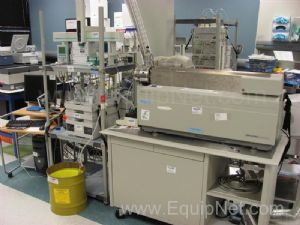 Applied Biosystems MDS Sciex API 4000 LC/MS/MS System w Agilent 1100 and CTC Autosampler