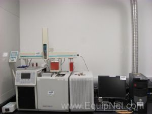 Varian CP-3800 Gas Chromatograph W/CTC Analytics Autosampler