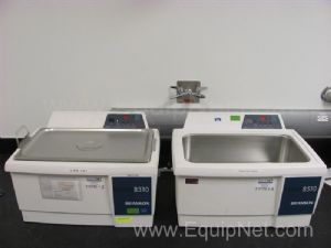 Lot of (2)Branson 8510 Ultrasonic Cleaners