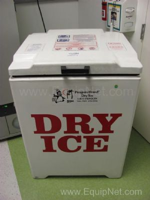HR Industries Dry Ice Shipping Container