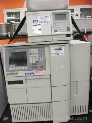 Waters Alliance 2695 HPLC with 2487 Dual Absorbance Detector