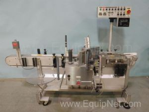 Accraply Semi-Automatic Pressure Sensitive Inline Labeler
