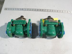 Lot of 2 Durco AY41777AA Ball Valve