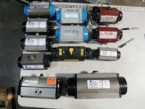 Lot of 12 Assorted Pneumatic Actuators