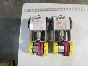 Lot of 2 ITT M52 K414 DLS Control Valves