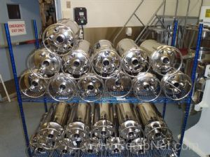 Lot of 23 Alloy Products Pressure Vessels