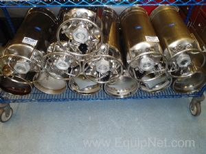Lot of 12 Alloy Products Pressure Vessels