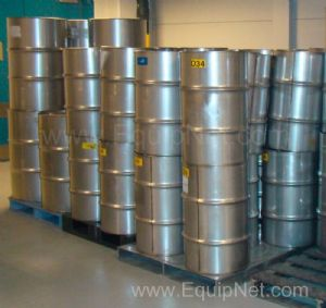 30 Gallon Stainless Steel Storage Drums (Lot of 61)