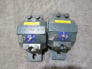 Lot of 2 Dodge Pillow Block Bearings