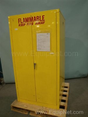 A and A Sheet Metal Flammable Storage Cabinet