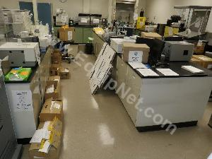Lot of Lab Casework