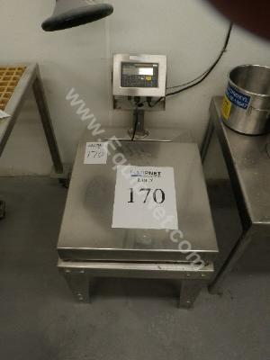 Weightronix Stainless Steel Platform Scale with WI-125 Indicator