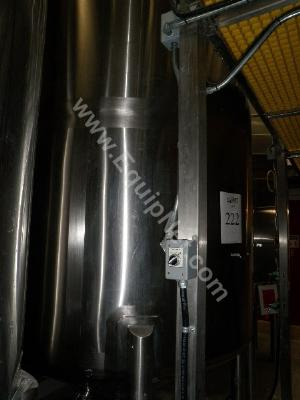 8000 Liters Canadian Custom Stainless Steel Storage Tank