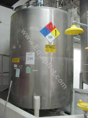 Stainless Steel Caustic Soda Tank
