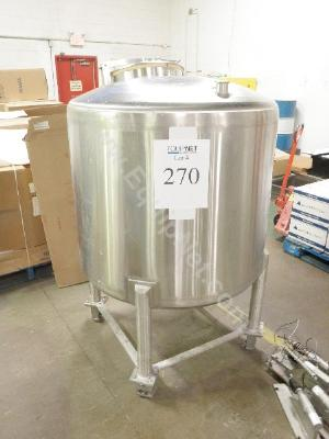 Inox 200 Gallon Stainless Steel Tank