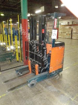 Toyota Stand Up Reach Forklift