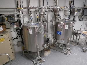 Perma-San 70 Gallon Jacketed Stainless Steel Mixing Vessel