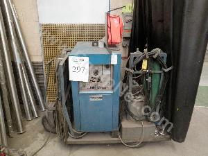 Miller Model 320A/BP AC-DC Inert Gas Welder