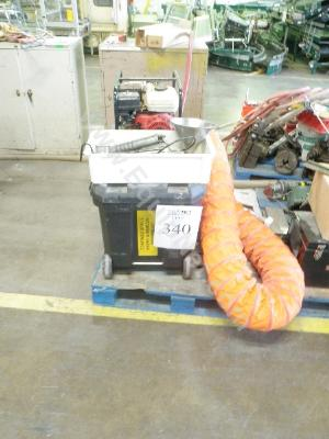 Pallet with Confined Space Equipment