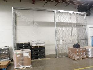 Chain Link Enclosure and Barrier Partions