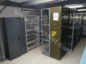 Large Lot of Steel Cabinets and Shelving