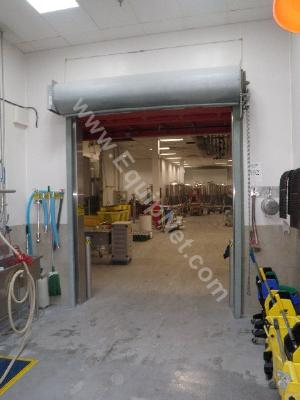 Manual Metal Overhead Rolldown Door