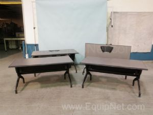 Lot of 4 Vecta Train Tables