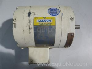 Leeson C6T17VC6C Electric Motor .75HP