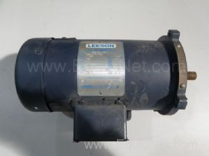 Leeson C42D17FK1A Electric Motor .5HP