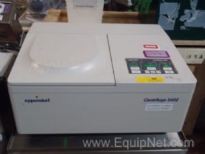 Eppendorf Model 5402 Temperature Regulated Benchtop 14000 RPM Centrifuge