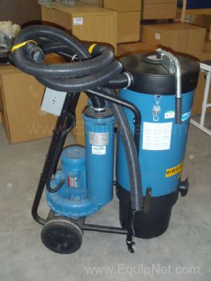 Nederman Model P30 Mobile Dust Vacuum Extractor Collector