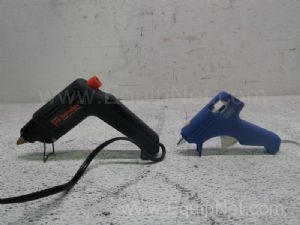 Lot of 2 Assorted Glue Guns