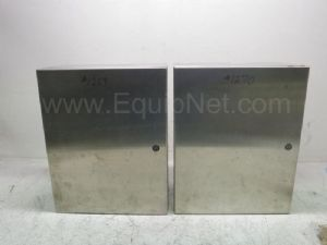 Lot of 2 Hoffman 00018 Electrical Box Enclosures