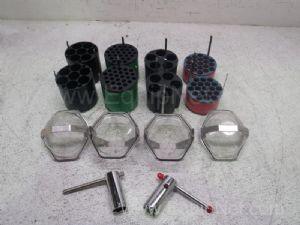 Lot of Assorted IEC Centrifuge Swingbucket Adapters & Accessories