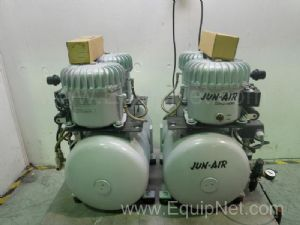 Lot of 2 Jun-Air Air Compressors