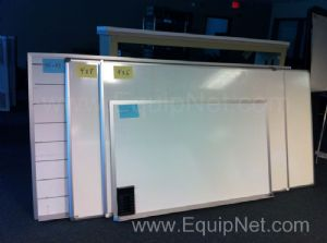 Lot of (8) White Boards