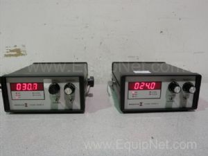 Lot of 2 Endevco 4428A Piezoresistive Pressure Transducer Control Boxes