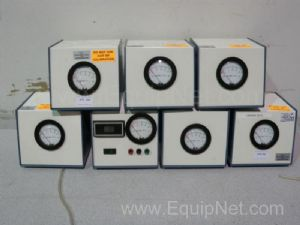 Lot of 7 Pressure Gauges