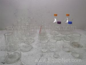 Lot of Assorted Glass Vessels